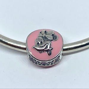 Pandora Vintage Minnie Mouse Bubblegum Pink Charm